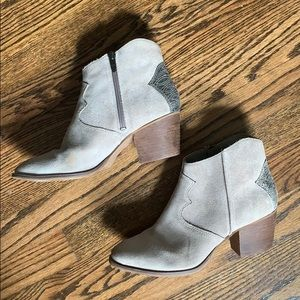 Marc Fisher Taupe Booties Size 9